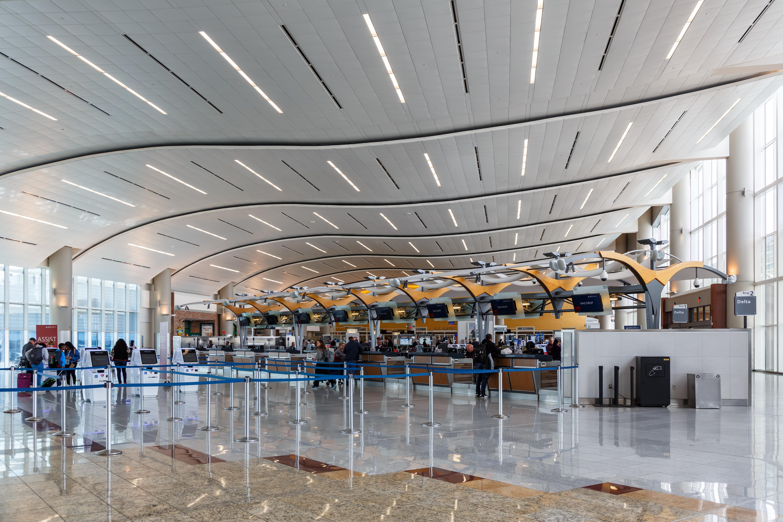 Atlanta Airport Inside Terminal